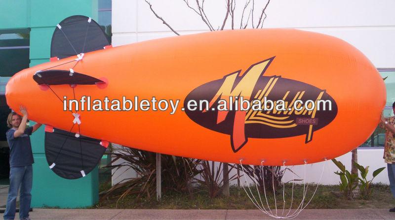 Inflable publicidad zeppelin