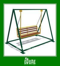 LOYAL BRAND teak swing bench