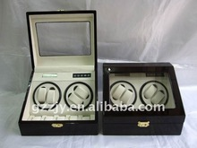 2012 New wooden automatic watch winder for 4+5 watches