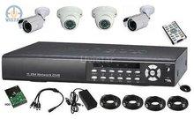 4CH H.264 CCTV DVR CCTV System