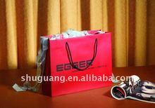 2015 Luxury Cotton Handle Shopping Paper Bag (SGZ1159)