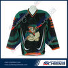 custom ice hockey garment with 100%polyester ice hockey equipment