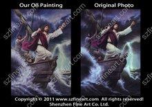 100% handmade high quality Jesus Christ oil paintings on canvas