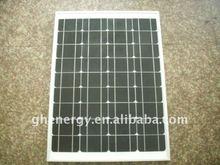High efficient Solar modules Monocrystaline 50W GH energy,solar panel,PV system
