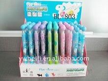 promotion plastic Erasable ball point pen