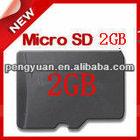 low price 2GB micro SD card/TF card
