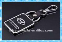 souvenir cheap custom made Leather Keychain DKMK0478