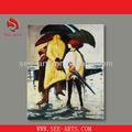 Abstrato moderno pintura em tela para sala sjd-025