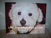 dog animal portrait painting from artist SJD-046