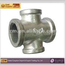 BS Standard plumbing accessories, galvanized pipe fitting cross