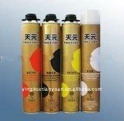 professional aerosol polyurethane adhesive/Expanding PU Foam Sealant for windows and doors in china