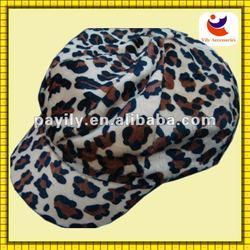 Manufacturers customizable fashion leopard grain hat party ideas
