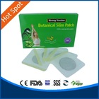 new green Lose weight belly herbal botanical slimming patch face