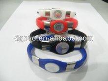 wholesale negative ion bracelets, negative ion bands, power bracelets MOQ 100PCS 1123