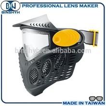 Soft Earmuffs Wide Angle Lens Paintball Mask