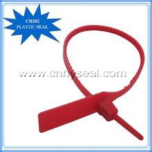 CH302 Plastic Cash bag pull tight plastic locks
