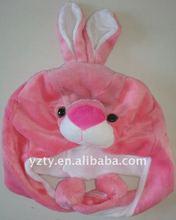 Factory supply Rabbit&wolf fleece rabbit hat