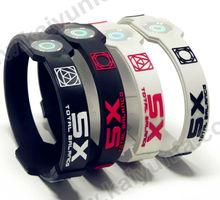 HOT silicone sport gift bracelet. energy balance band