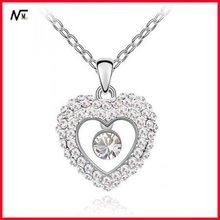 Free Shipping 2012 Diamond Necklace Of White