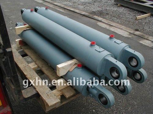 Cilindro hidráulico para carregadeira/bulldozer/compactador de lixo/guindaste de torre/escavadeira/trator/empilhadeira