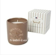Scented Soy Candle in ceramic jar