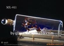 crystal art wine bottle shape dragon