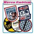 Emblemas tecidos de ferro - on / Sew on de alta densidade projetos para esportes desgastam ( Patch / emblema / emblema / etiqueta / crista / Insignia )