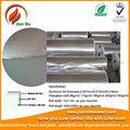 luftkanal material aluminium folie bedeckt die glasfasergewebe
