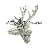 Arts & Crafts Fashion Lifelike Animal Beer Head Cufflinks