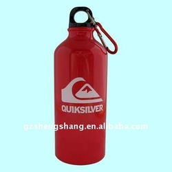 Bpa free aluminum sports water bottle carrier