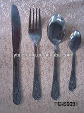 stainless steel cutlery set hot sell in mideast region