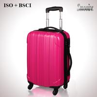 Colorful ladies waterproof travel duffel bag with trolley