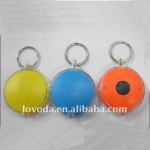 2012 hot promotional led keyring light , cheaper price , logo printing JLP-020