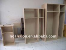 panel modular wardrobe wooden wardrobe model