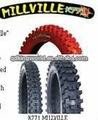 los neumáticos de motocross