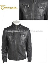 new bomber leather jacket for men