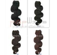 Dark color series hair weaving