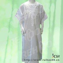 KSH BT6 toddler omani style boy's white thobe