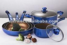 7PCS ENVIRONMENTAL NON STICK ALUMINUM DINNER SET