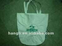 Tyvek luxury paper shopping bag with logo print