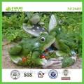 Rana jardín figuras, la rana verde jardín, rana jardín adornos