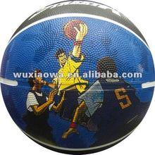 rubber basketball/baksetball/size 7 balls/rubber balls factory