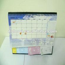 2012 agendas in spiral notebook, notebook with agenda