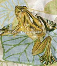 cast iron decor frog