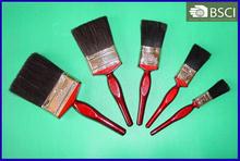 777 Black Bristle Deep Maroon Wooden Handle Paint Brush