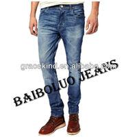 Latest Design Top Brand Name Jeans (GKC059)