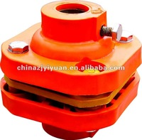 Paddle wheel aerator parts Movable joint