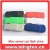 Plastic swivel usb 2.0 flash memory