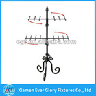 2 Tier Countertop Rotating Metal Wire Jewelry Display Stand