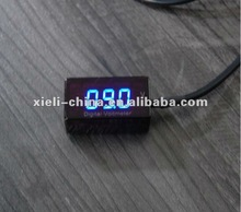 24V voltmeter motorcycle meter BLUE